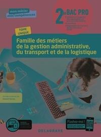 Vincent Ducros - Famille des métiers de la gestion administrative du transport et de la logistique 2de Bac Pro GATL - Pochette élève.