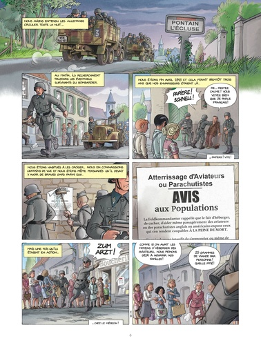 Les enfants de la Résistance Tome 7 Tombés du ciel