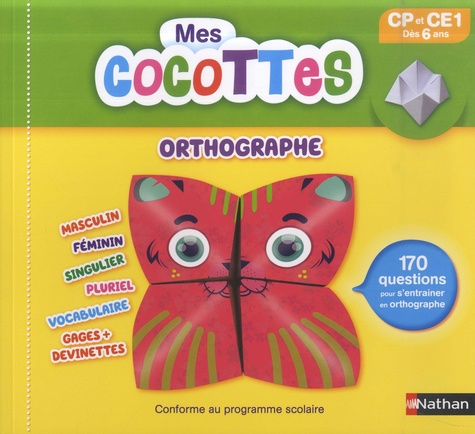 Mes cocottes orthographe CP et CE1
