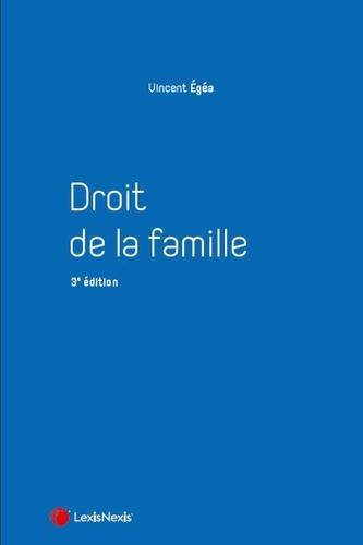 Droit de la famille 3e édition