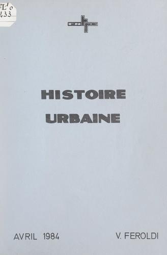 Histoire urbaine