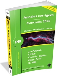 Vincent Freulon et Alexandre Hérault - Annales des concours 2020 - PSI physique, modélisation et chimie.