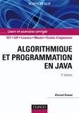 Vincent Granet - Algorithmique et programmation en Java - 3e éd. - Cours et exercices corrigés.