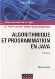 Vincent Granet - Algorithmique et programmation en Java.
