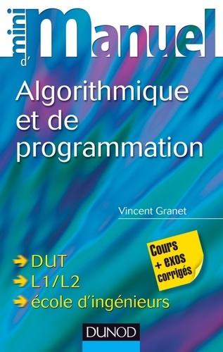 Vincent Granet - Mini manuel d'algorithmique et de programmation.