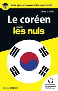 Vincent Grépinet - Le coréen pour les nuls.