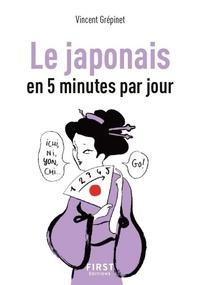 Vincent Grépinet - Le japonais en 5 minutes par jour.
