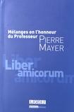 Vincent Heuzé et Rémy Libchaber - Mélanges en l'honneur du Professeur Pierre Mayer.