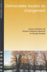 Vincent Hoffmann-Martinot et Claude Sorbets - Démocraties locales en changement.