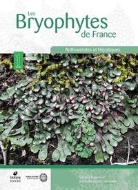 Vincent Hugonnot et Leica Chavoutier - Les Bryophytes de France - Tome 1, Anthocérotes et Hépatiques.