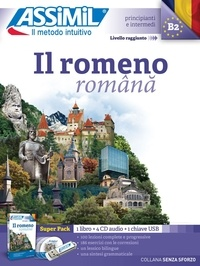 Vincent Ilutiu - Il romeno - Avec 1 clé USB. 4 CD audio