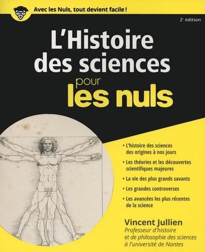 L'histoire des sciences pour les nuls 2e édition