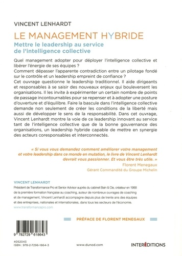 Le Management Hybride. Mettre le leadership au service de l'intelligence collective