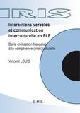 Vincent Louis - Interactions vebales et communication interculturelle en FLE.