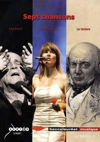 Vincent Maestracci - Sept chansons.