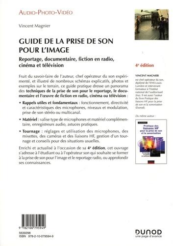 Guide de la prise de son pour l'image 4e édition