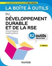 Vincent Maymo et Geoffroy Murat - La boîte à outils du Développement durable et de la RSE - 2e éd..