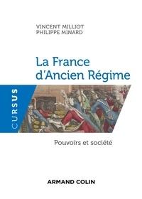 Ebook Téléchargez Amazon La France d'Ancien Régime  - Pouvoirs et société (French Edition) ePub par Vincent Milliot, Philippe Minard