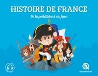 Vincent Mottez et Leslie-Fleur Picardat - Histoire de France - De la préhistoire à nos jours.