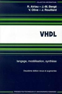 Histoiresdenlire.be VHDL. Langage, modélisation, synthèse, 2ème édition Image