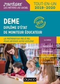 DEME, Diplôme d'Etat de moniteur éducateur- Tout-en-un - Vincent Pagès pdf epub