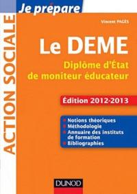 Vincent Pagès - Le DEME Diplôme d'Etat de moniteur éducateur.
