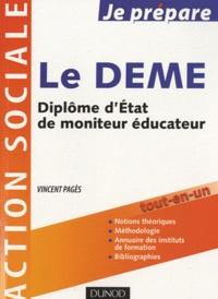 Vincent Pages - Le DEME - Diplôme d'Etat de Moniteur Educateur.