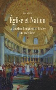 Histoiresdenlire.be Eglise et Nation - La question liturgique en France au XIXe siècle Image