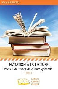 Histoiresdenlire.be Invitation à la lecture - Recueil de textes de culture générale Tome 2 Image