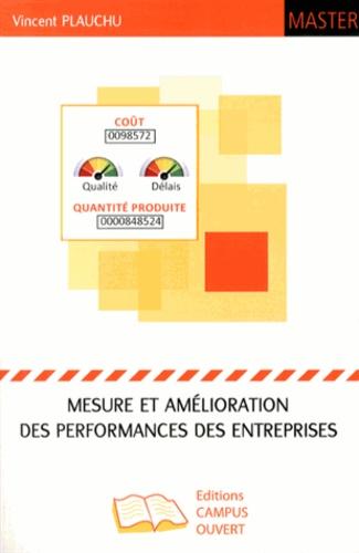 Vincent Plauchu - Mesure et amélioration des performances des entreprises.