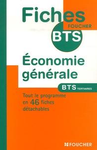Economie Générale BTS Tertiaires - Vincent Plouvier |