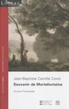Vincent Pomarède - Souvenir de Mortefontaine - Jean-Baptiste Camille Corot.