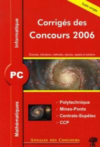 Vincent Puyhaubert et Alexandre Hérault - PC Mathématiques et Informatique - Corrigés des concours.