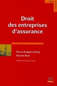 Vincent Ruol et Pierre-Grégoire Marly - Droit des entreprises d'assurance.