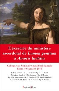Openwetlab.it L'exercice du ministère sacerdotal de Lumen gentium à Amoris laetitia - Colloque au Séminaire pontifical français, Rome 4-6 janvier 2018 Image