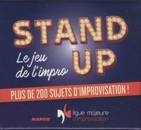 Vincent Tribout - Stand up - Le jeu de l'impro, plus de 200 sujets d'improvisation !.