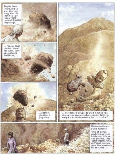 Les voyages de He Pao Tome 1 La montagne qui bouge