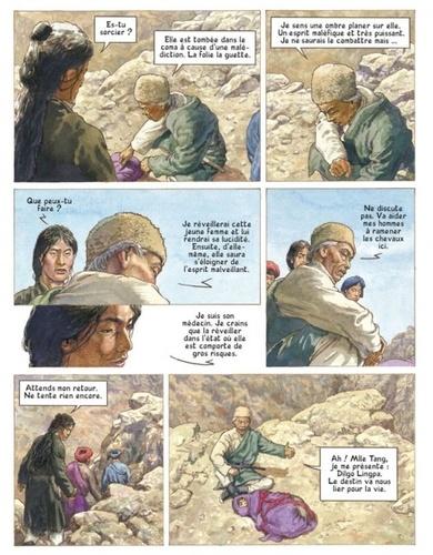 Les voyages de He Pao Tome 4 Neige blanche, chemin d'antan