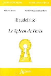 Violaine Boneu et Sandrine Bédouret-Larraburu - Baudelaire - Le spleen de Paris.