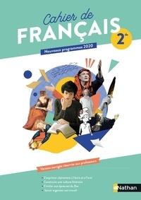 Violaine Carry et Florence Renner - Cahier de francais 2de.