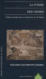Violaine Giacommotto-Charra - La forme des choses - Poèsie et savoirs dans La Sepmaine de Du Bartas.