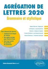 Télécharger gratuitement google books gratuitement Agrégation de lettres  - Grammaire et stylistique par Violaine Giacomotto-Charra 9782340034198 MOBI ePub