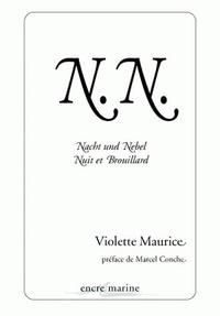 Deedr.fr N.N - Nacht und Nebel : Nuit et Brouillard Image