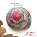 Violette Sicre et Bernard Sicre - L'escargot multicolore.