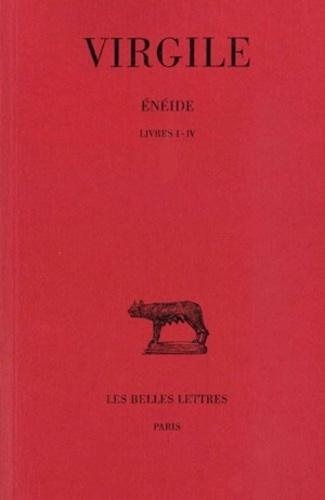 Virgile - Énéide Tome 1 - Livres I-IV.