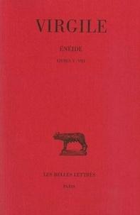 Virgile - L'Enéide - Tome 2, Livres 5-8.