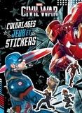 Virgile Turier - Captain America Civil War - Coloriages, jeux et stickers.