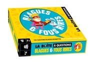 Virgile Turier et Pascal Naud - La boite à questions Blagues & fous rires.