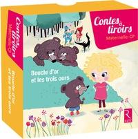 Virginia Arraga de Malherbe et Brigitte Saussard - Boucle d'or et les trois ours - Contient 30 cartes et 1 livret pédagogique.