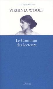 Virginia Woolf - Le Commun des lecteurs.